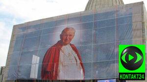 Portret Jana Pawła II zniknął [br]z Świątyni Opatrzności Bożej