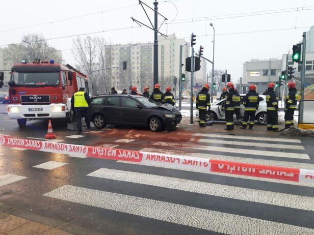 Wypadek na Bemowie Artur Węgrzynowicz/ tvnwarszawa.pl
