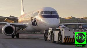 Samolot zawrócił z kołowania. Pasażer zauważył wyciek paliwa