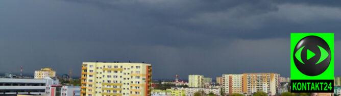 Burze na północy, południu i w centrum Polski. Towarzyszący im wiatr osiąga prędkość 80 km/h