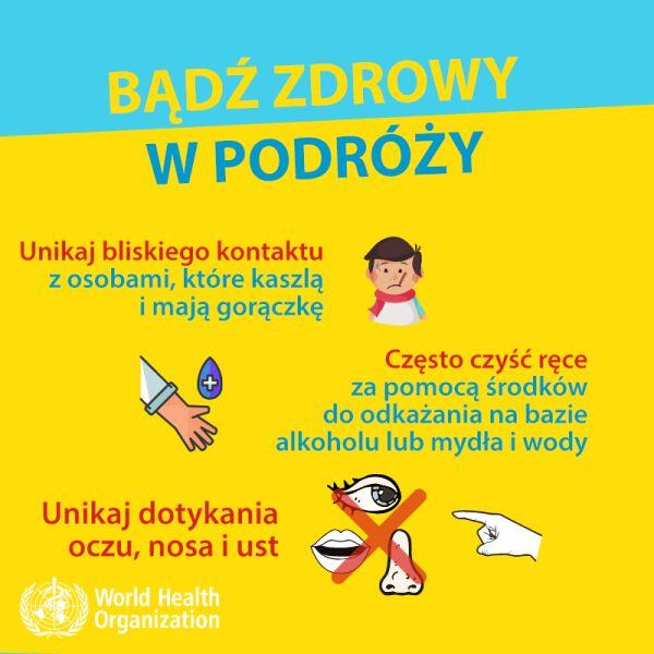 Bądź zdrowy w podróży (tvnmeteo.pl za WHO)