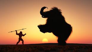 Tak zabijano mamuty w Krakowie