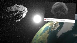 W Halloween straszyła nas asteroida. Przypomina trupią czaszkę i minęła Ziemię o włos