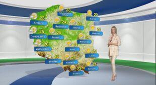 Prognoza pogody na poniedziałek 10.05