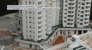 Mieszkańcy Hongkongu przejdą kwarantannę w jednym z osiedli